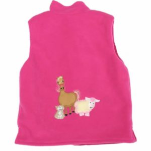 cerise-body-warmer-with-farmyard-gathering-applique-back