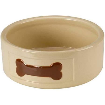 Anti Gulp Dog Bowl Small Ceramic