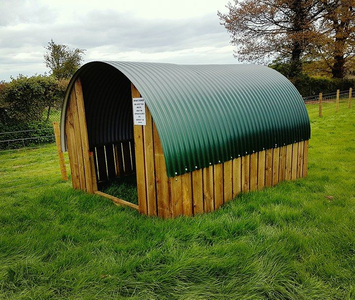 Sheep shelter designs